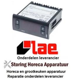 403381401 - Thermometer LAE inbouwmaat 71x29mm inbouwdiepte 70mm 230V spanning AC PTC/Pt100