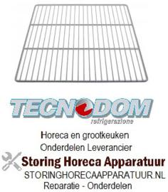 613970896 - Draadrooster B 530mm D 550mm H 10mm  voor Tecnodom
