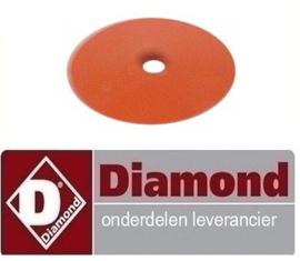 112RTCU800185 - Pakking knop bain-marie DIAMOND E7/BM4T