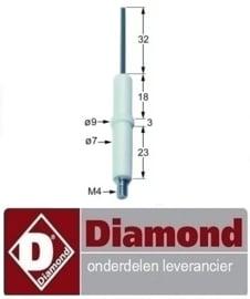 G60/PL3T - G60/PL6T - DIAMOND PRO 600 GAS BAKPLAAT HORECA EN GROOTKEUKEN APPARATUUR REPARATIE ONDERDELEN