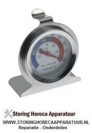 077541093 - Thermometer -30 tot +30°C grootte ø60mm beeldscherm analoog