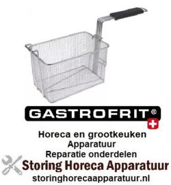 238970752 - Friteusekorf B1 150mm L1 250mm H1 160mm H2 250mm Gastrofrit