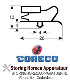 155902856 - Coreco koeldeurrubber B 375mm L 580mm steekmaat