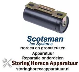 126365101 - Startcondensator 330V inschakeltijd 1,7% capaciteit 125µF voor ijsmachine Scotsman