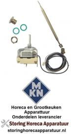 VE083375097 - Thermostaat instelbereik 95-195°C 3-polig 3NO 16A voeler ø 6mm voeler L 117mm MKN