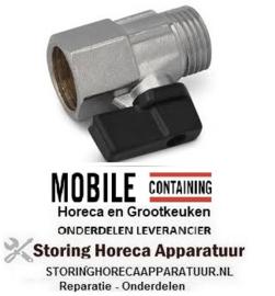 95.8372 - Uitloopkraan t.b.v. Soup Well Mobile Containing