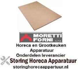 324850108 - Vuurvaststeen L 1056mm B 526mm H 14mm MORETTI