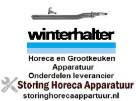 124417532 - Verwarmingselement 6000W 400V VC 3 inbouw ø 47,5mm L 520mm B 32mm H 52mm rondflens kabellengte 800mm voor vaatwasser WINTERHALTER