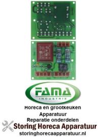 744403961 - Printplaat vleesmolen/kaasrasp L 95mm B 81mm 230V FAMA