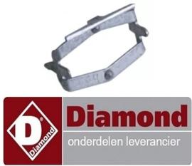 056.661.013.00 - Verbindingsbeugel thermostaat elektrische bakplaat DIAMOND E65/PL4T