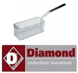 412006133 - Friteusekorf breed 135 mm  DIAMOND FRITESUE E22/F46-A8
