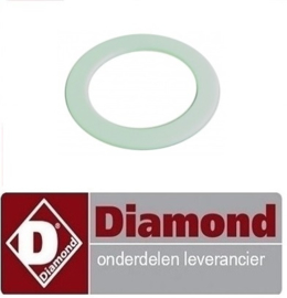 2330800052 - TEFLON RING 57X42X2 DIAMOND