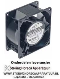 965.6010.81 - Ventilatormotor axiaalventilator 230VAC 50/60Hz 14/13,5 W lager kogellager