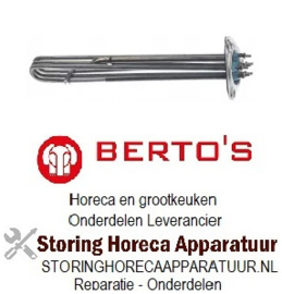 534418136 - Verwarmingselement 4360W 240V voor Bertos