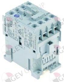 380352 - Relais  AC1 32A 230VAC (AC3/400V) 9A/4kW hoofdcontact 4NO aansluiting schroefaansluiting
