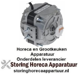 156602199 - Ventilatormotor 10W 220/240V 50/60Hz L1 82mm L2 100mm B 84mm kabellengte 1000mm 1300/1550U/min