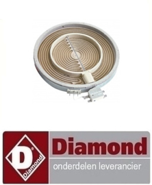 490665.052.00 - VERWARMINGSELEMENT  2500W DIAMOND