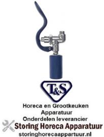 """765594101 - Handdouche waterbesparend T&S aansluiting 3/4""""-14 UN bij 3bar 2,46l/min type T&S"""