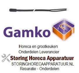 304381249 - Temperatuurvoeler NTC 10kOhm kabel PVC voeler -40 tot +110°C kabel -10 tot +100°C  drankenkoeling   GAMKO