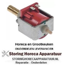 "205500124 - Vibriatiepomp type EX 5, 230V, 48W, 50/60Hz ingang ø 6 uitgang ø 1/8"" ID vlakafdichtend ULKA"