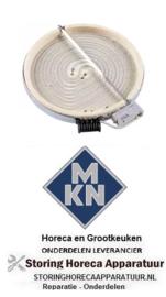 526490093 - Stralingselement ø 230mm 2100W 230V voor MKN