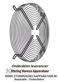 115601.955 - Beschermrooster ebm-papst voor ventilatorblad ø 315 mm ø 33 mm