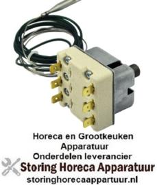 VE113375320 - Maximaalthermostaat uitschakeltemp. 230°C 3-polig 3NC 20A voeler ø 6mm voeler L 79mm