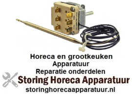 VE673390074 - Thermostaat t.max. 260°C instelbereik 60-240/80-260°C 3-polig 3NO 10A