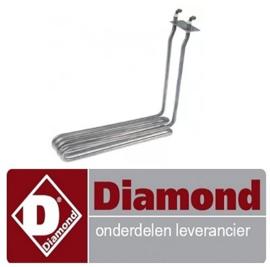 6310C2616 - Verwarmingselement 2900 Watt friteuse DIAMOND E17/F14A4-N