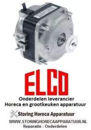 8896.020.57 -  Ventilatormotor ELCO 18W 230V 50/60Hz lager glijlager aansluiting kabel 500mm ELCO