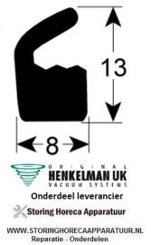 8070320210 - Dekselpakking prijs per meter HENKELMAN