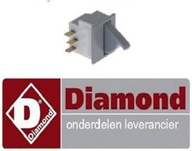 20712036888 - Schakelaar met drukknop koelkast DIAMOND