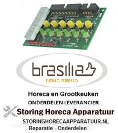 EUN10168.2.00.08 - Bedieningsprint voor koffie machine  BRASILIA