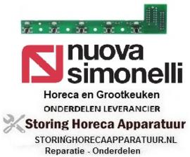 294402398 - Bedieningsprintplaat L 160mm B 34mm voor koffiie machine NuovaSimonelli