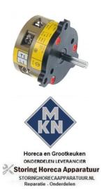 025346440 - Draaischakelaar 2 0-1 type B1SR A-XF-X-XX voor MKN