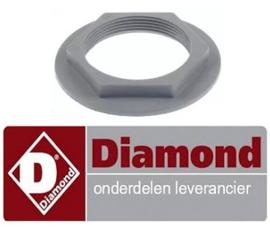 186429073 - Moer voor wasarmhouder onder vaatwasser DIAMOND DK7/2-NP