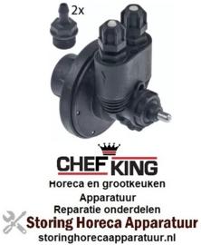 VE573361370 - Doseerapparaat glansspoelmiddel voor vaatwasser CHEFKING