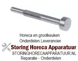 166106993 - Ontsteker L 29mm kop ø 6mm aansluiting 2,4mm