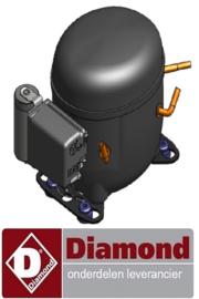 20440106002 - Compressor voor Pizza koelwerkbanK DIAMOND TP23