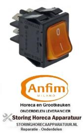 778301331 - Wipschakelaar inbouw oranje voor Anfim