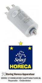365182 - Bedrijfscondensator capaciteit 8µF 400V  Horeca - Select GFS 1025