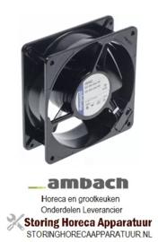 235601030 - Aaxiaalventilator L 119mm B 119mm H 38mm 230VAC 50Hz 18W AMBACH