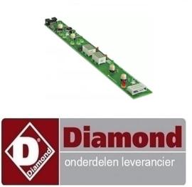 Displayprintplaat vaatwasser  DIAMOND DFE 6/6 AC  -   displayprintplaat vaatwasser DIAMOND DFE 6/6 AC