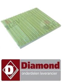656F07010 - VUURVASTE STEEN DIAMOND KEB-E40 , KEB-E60 , KEB-E80