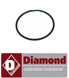 223A86ME29001 - Veer voor tandwiel ø 49mm dikte 1,5mm Diamond P42/XVM