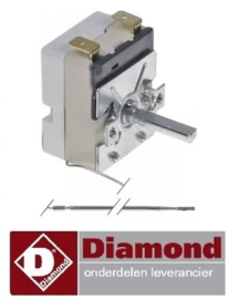 375A.060.42  - Thermostaat pannenkoekenplaat DIAMOND BRET/2E-R