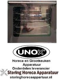 325VT018A - Binnenruit voor heteluchtoven UNOX XF030-TG