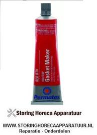 387890243 - Hoge temperaturen silicone PERMATEX HIGH-TEMP RED RTV SILICONE 85g