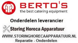 BERTOS - HORECA EN GROOTKEUKEN APPARATUUR REPARATIE ONDERDELEN