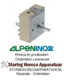 VE513380015 - Energieregelaar rechtsdraaiend oplopend 13A / 230V ALPENINOX